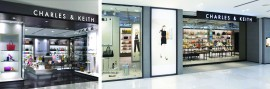 Successful fashion brand CHARLES & KEITH builds and grows with the support of Eurostop solutions