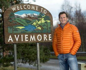 Chris Tiso opens Aviemore store