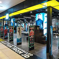 JD Sports chooses Eurostop Retail Systems for stores in South East Asia