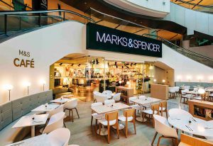 M&S in store Cafe