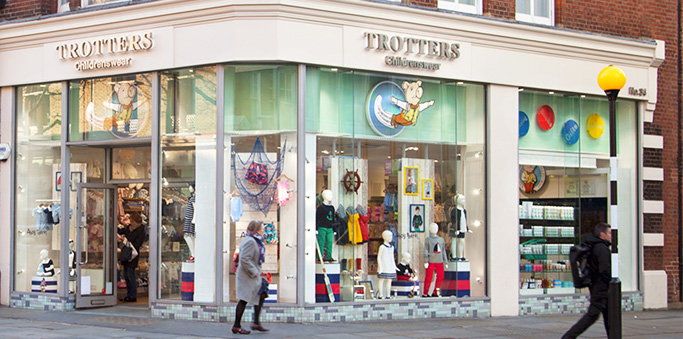 Trotters Childrenswear store
