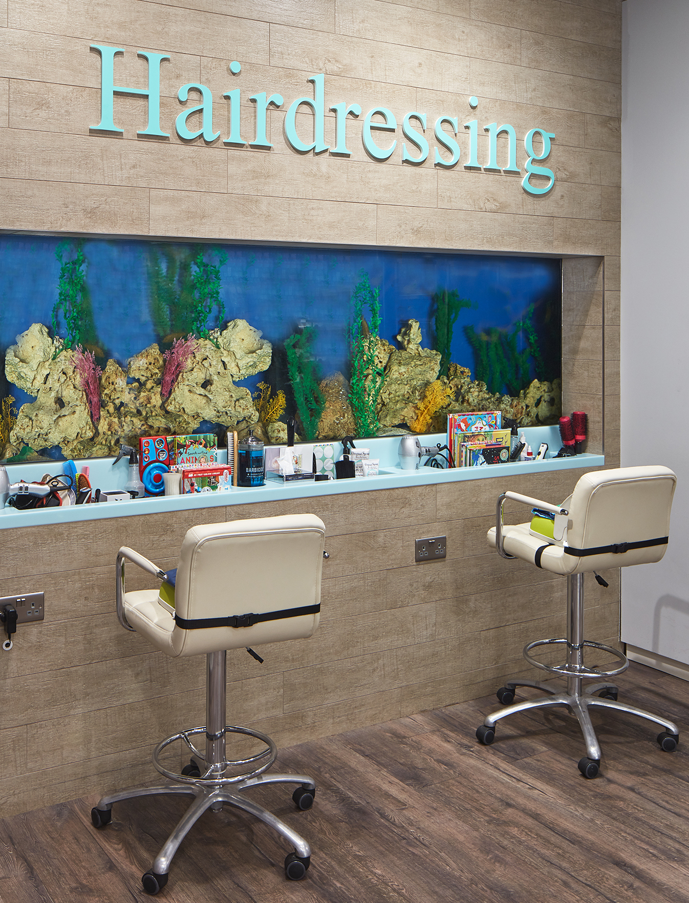 Trotters childrenswear hairdressing experience