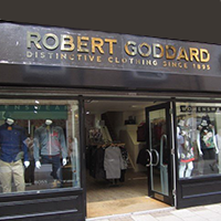 Robert Goddard Shop